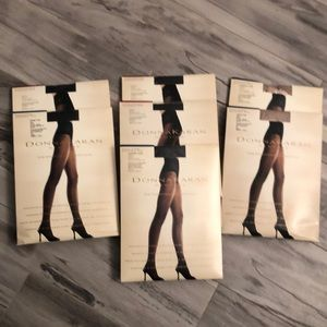 Donna Karan Stockings NEW 7 Pairs